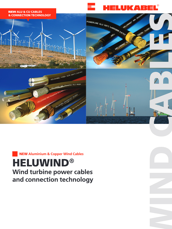 HELUWIND® Wind Turbine Power Cables and Connection Technology
