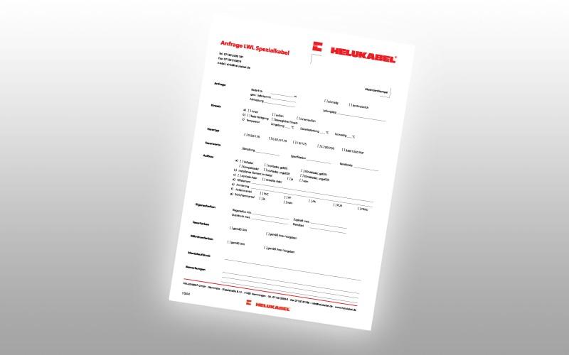 Illustration of a form