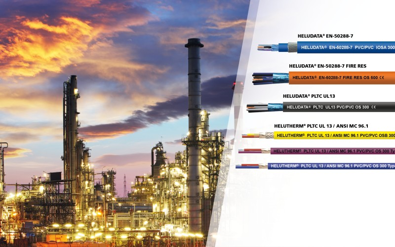 New Instrumentation Cables for Oil and Gas