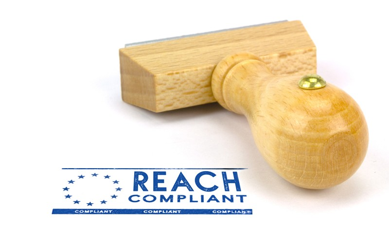 REACH Compliant Stamp