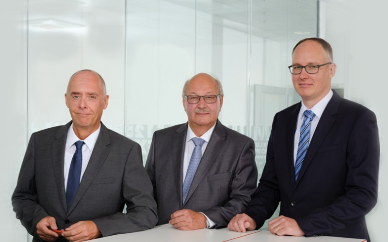 Picture of the three helukabel managing directors