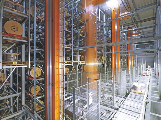 Fully-Automated High-Rack Storage at Helukabel